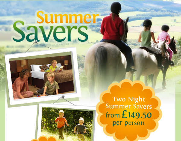 Two night summer savers from £149.50 per person